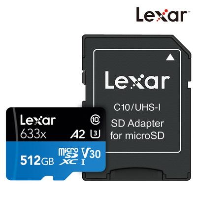 렉사 공식판매원 microSD카드 633배속 UHS-Ⅰ급 512GB