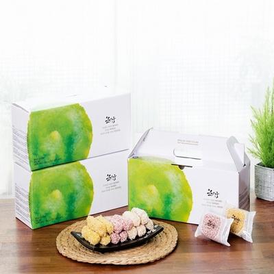 소담 4종 구성 윤의궁한과 복분자 단호박 찹쌀 쑥유과 (무료택배)