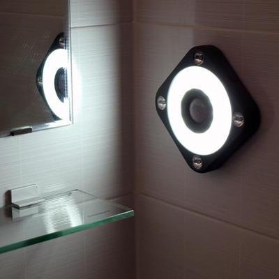 플램 센라이트 Ultra Square 동작감지 LED무선 센서등(FSL108)