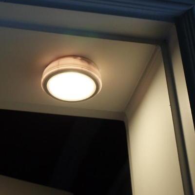 플램 센라이트 Sound 소리감지 LED 무선 센서등(FSL131)