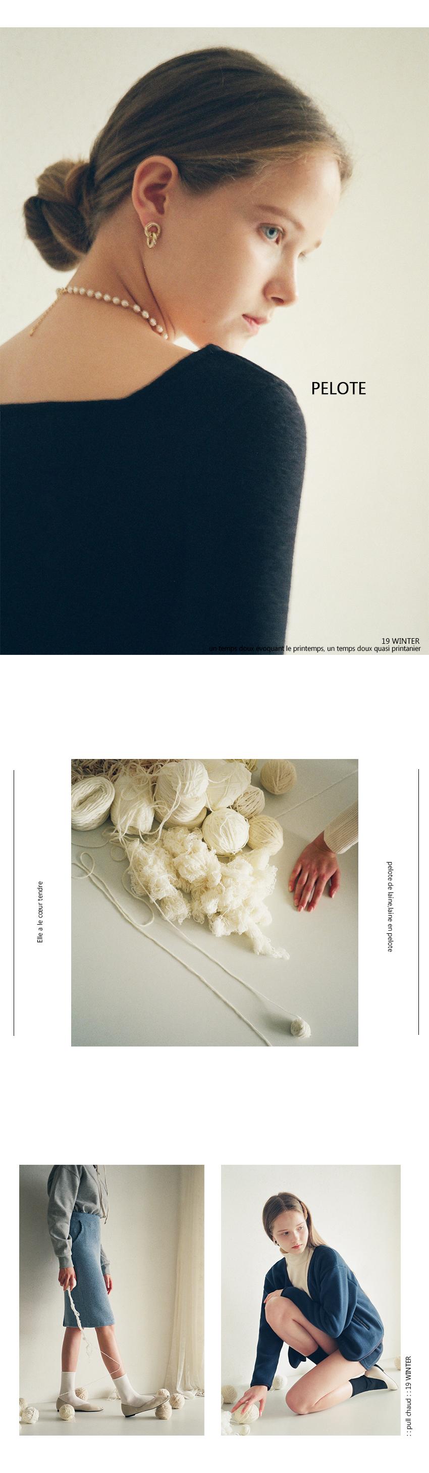 TAIKIE COLLAR MTM (GRAY) - 루흠 (RUHM), 42,000원, 상의, 맨투맨/후드티