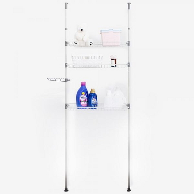 에스파스 기둥식 옷사랑 세탁기선반 3단