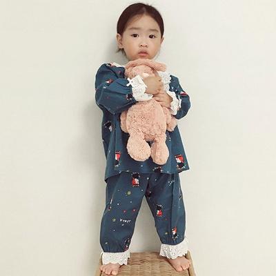 빨강머리앤 앤의 숲속 아동 투피스 잠옷