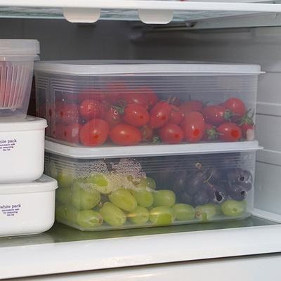 냉장고 냉동실 정리용기 3리터 야채 과일보관