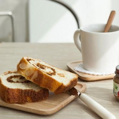 사각 나무 코스터 우드 컵받침
