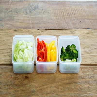 사각 채반용기 야채 과일 보관 밀폐용기 1100ml