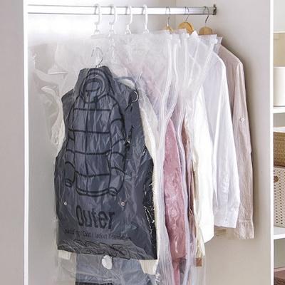 이불 의류 진공팩 압축팩 옷걸이 지퍼백