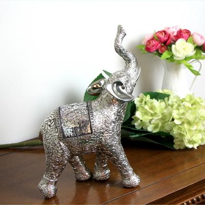 애플리제 개업선물 인테리어소품 꽃무늬은색코끼리 중