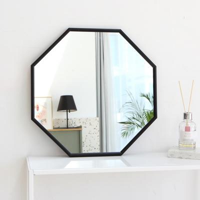 팔각 골드 알루미늄 정팔각 벽거울