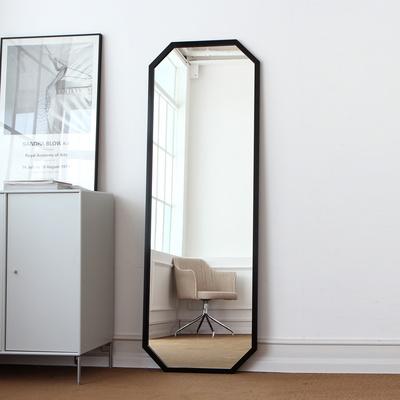 팔각 골드 알루미늄 대형전신거울