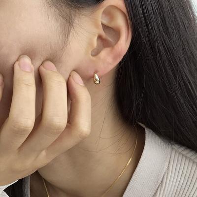 데이 원터치 링 귀걸이