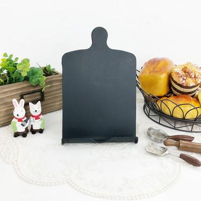 철제 도마모양 테이블 칠판