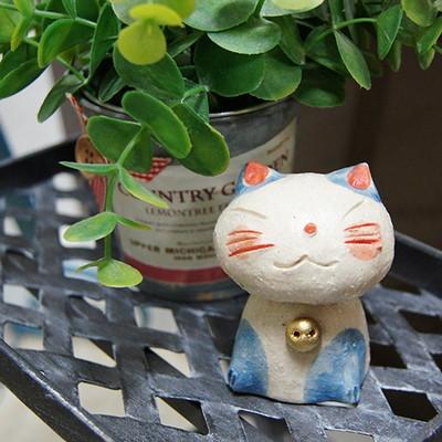 방울 단 블루 고양이