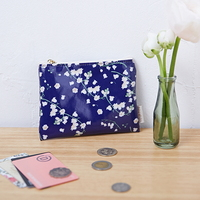 Floral Flat Pouch S