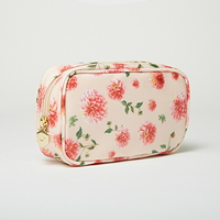 Floral Rectangle Pouch