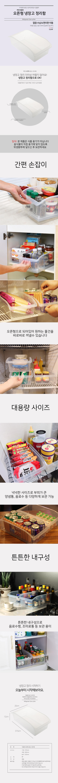 오픈형 냉장고정리용기 - 풀라이프, 2,900원, 주방수납용품, 수납함