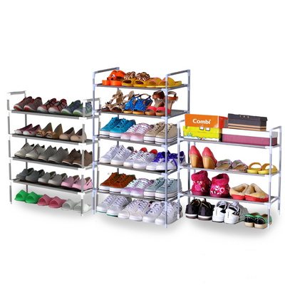 모던 신발정리대 3단부터10단 자유조절