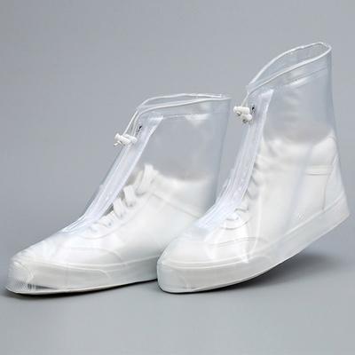 신발 보호 투명 PVC 커버 (지퍼형)
