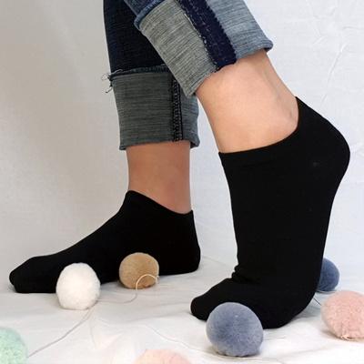 여성용 스니커즈 발목양말 5족세트