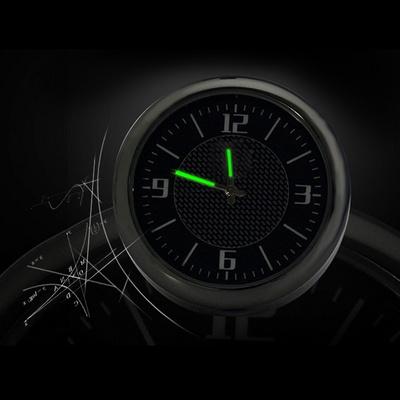 차바치 차량용 아날로그 시계