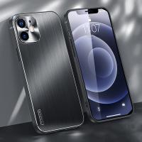아이폰X 소프트 프레임 메탈 렌즈보호 핸드폰 케이스