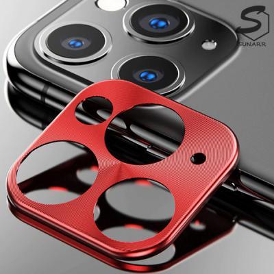 아이폰7 8 X XS XR 11 프로 맥스 플러스 휴대폰 카메라 렌즈 보호 필름 캡 메탈커버