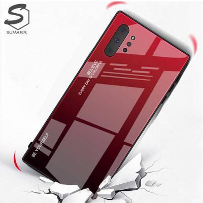 갤럭시A80 A805 그라데이션 강화글라스 휴대폰 핸드폰 케이스