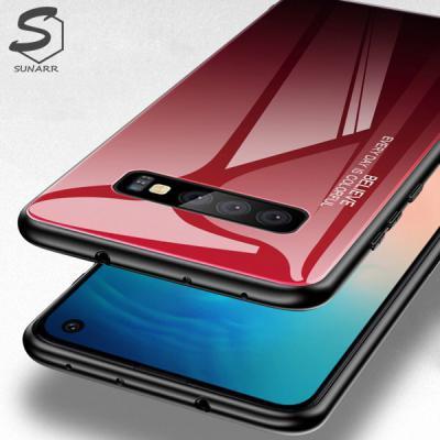 갤럭시A90 5G A908 그라데이션 강화글라스 휴대폰 핸드폰 케이스