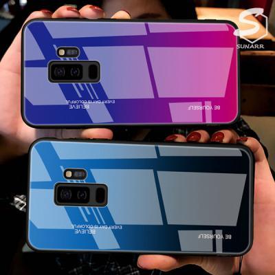 갤럭시A8스타 A9스타 G885 그라데이션 강화글라스 휴대폰 핸드폰 케이스
