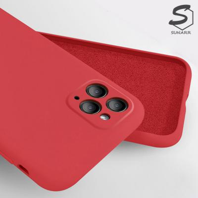 렌즈 풀커버보호 아이폰11 11프로 11프로맥스 실리콘 핸드폰케이스
