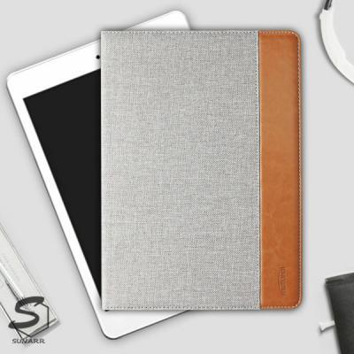아이패드7세대 10.2인치 A2197 A2198 A2200 클래식 패브릭 태블릿 케이스