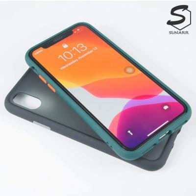 아이폰SE2 2020 반투명 컬러프레임 하드 휴대폰 핸드폰 케이스