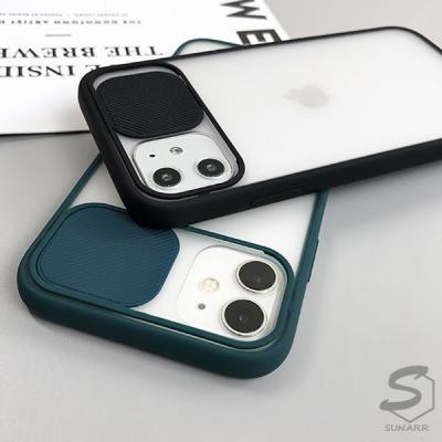 아이폰11 11프로 11프로맥스 슬라이드 카메라 렌즈 보호 핸드폰 케이스