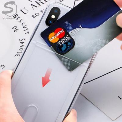 아이폰12 11 XR XS X 8 7 6 프로 맥스 미니 플러스 카드 투명실리콘 핸드폰케이스