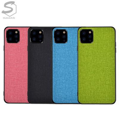 패브릭 아이폰12 SE2 11 XR XS X 8 7 6 6S 플러스 프로 맥스 프로맥스 모던컬러 슬림 핸드폰 케이스