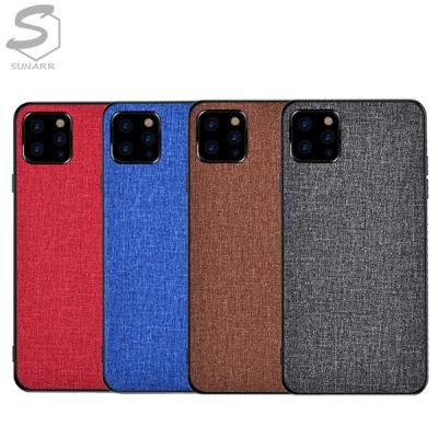 아이폰6 6S 7 8 X XS XR 11 SE2 12 플러스 프로 맥스 프로맥스 모던컬러 슬림 패브릭 핸드폰 케이스