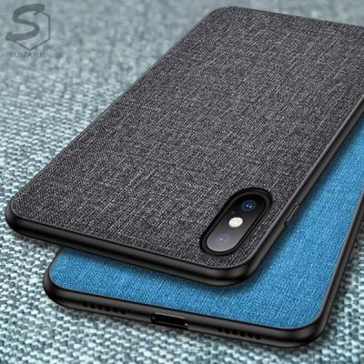 패브릭 아이폰6 6S 7 8 X XS XR 11 SE2 12 플러스 프로 맥스 프로맥스 모던컬러 슬림 핸드폰 케이스