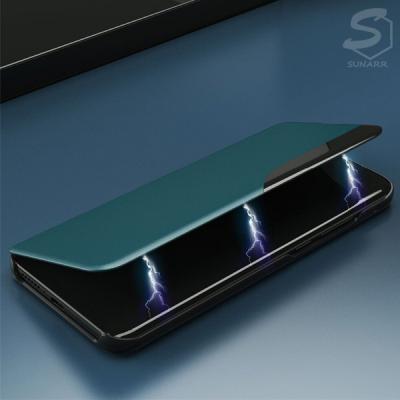 갤럭시A51 해외판 A515 클리어뷰 가죽 스탠딩 플립 커버 핸드폰 케이스