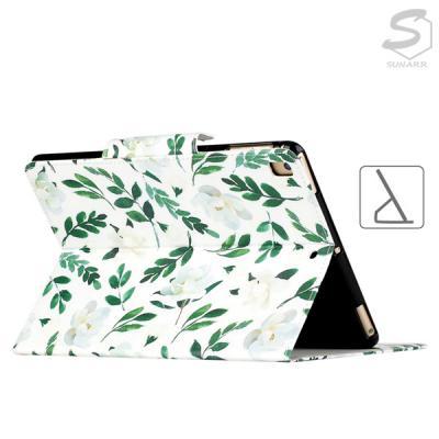 화웨이미디어패드T5 10 슬림 디자인 아트 프린팅 스탠드 카드수납 마그네틱 가죽 태블릿 케이스