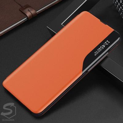 갤럭시S21 S21플러스 S21울트라 클리어뷰 가죽 스탠딩 플립 커버 핸드폰 케이스