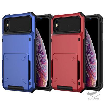아이폰6 6S 카드 포켓 하드 플립 커버 핸드폰 케이스