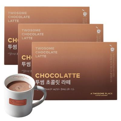 투썸플레이스 투썸 초콜릿라떼 3pack (총30개입)
