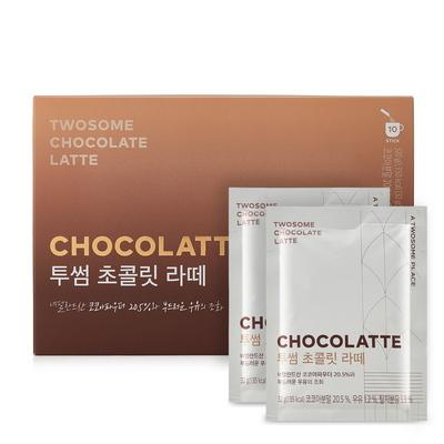 투썸플레이스 투썸 초콜릿라떼 10입