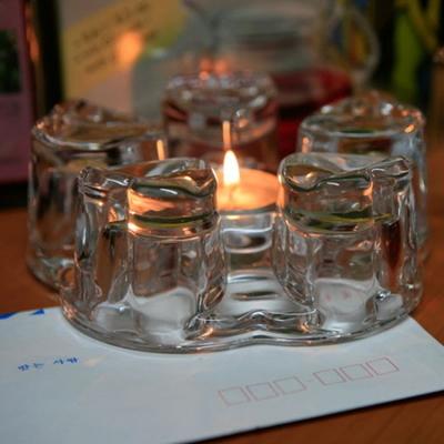 티라이트 10개 4.5시간연소 BON Candle 무향 흰색 양초