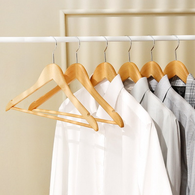 원목옷걸이set(원목옷걸이10P + 원목치마바지걸이 10P)
