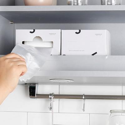 휴지통 비닐봉투 10L 50매x2