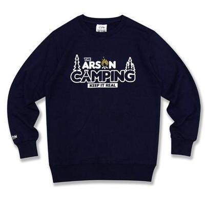 [알슨] #19110 CAMPING CREW NECK (Navy)