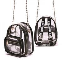 MINI CLEAR BAG - BLACK