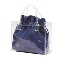 CLEAR BAG - BLUE 투명 파우치SET