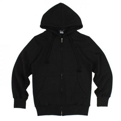 #2312 arson Zip-Up Hood (BLACK)